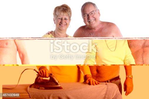802472024 istock photo Ironing His Shirt 457432649