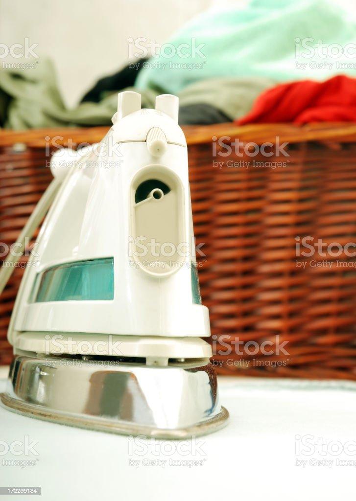 Ironing tool royalty-free stock photo