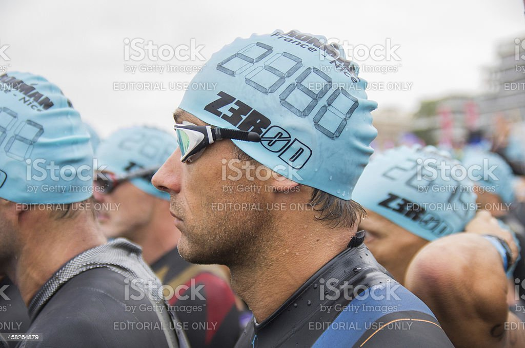 Ironman 2013 edition,Nice,France royalty-free stock photo