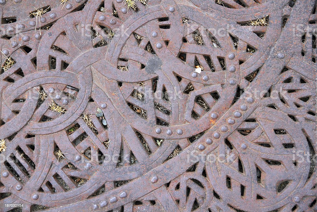 Ironwork Ground royalty-free stock photo