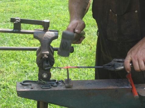 istock Ironworking Demonstration 90159918
