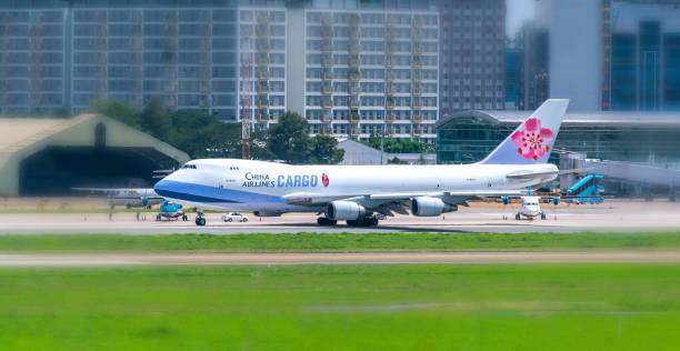 Irplane Boeing 747 von China Airlines Cargo Landung – Foto