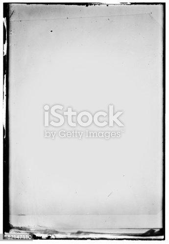 a frame with irregular borders and greyish tones inside