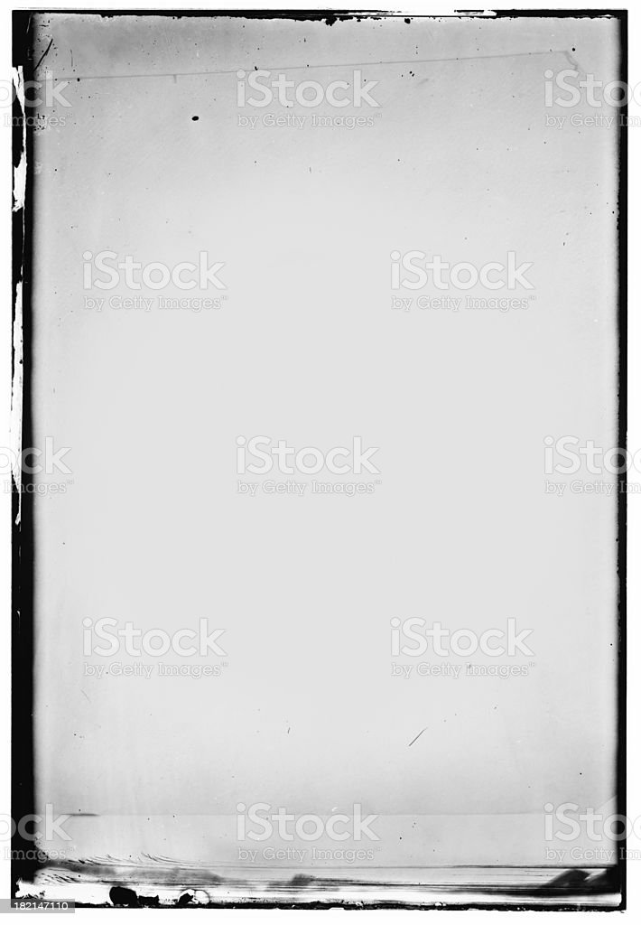irregular photo frame stock photo