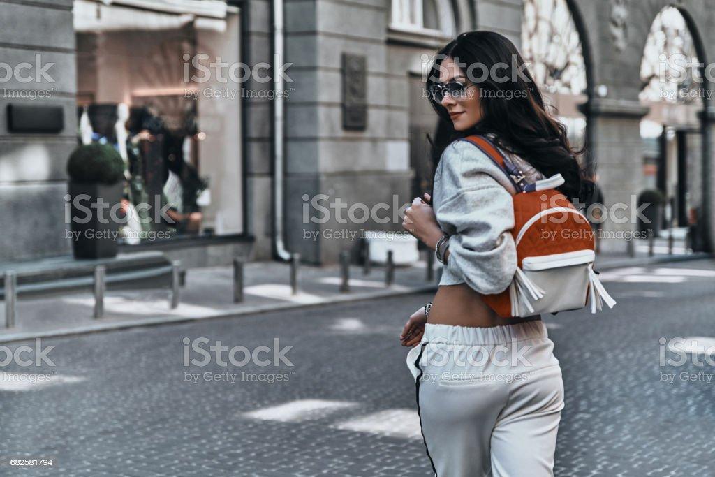 Irresistible woman. stock photo