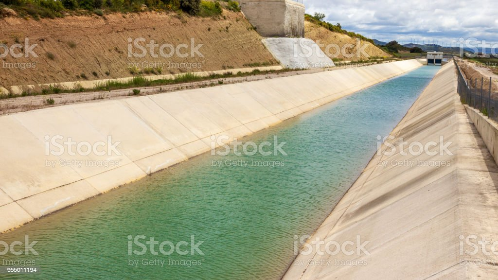 irrigation agriculture stock photo