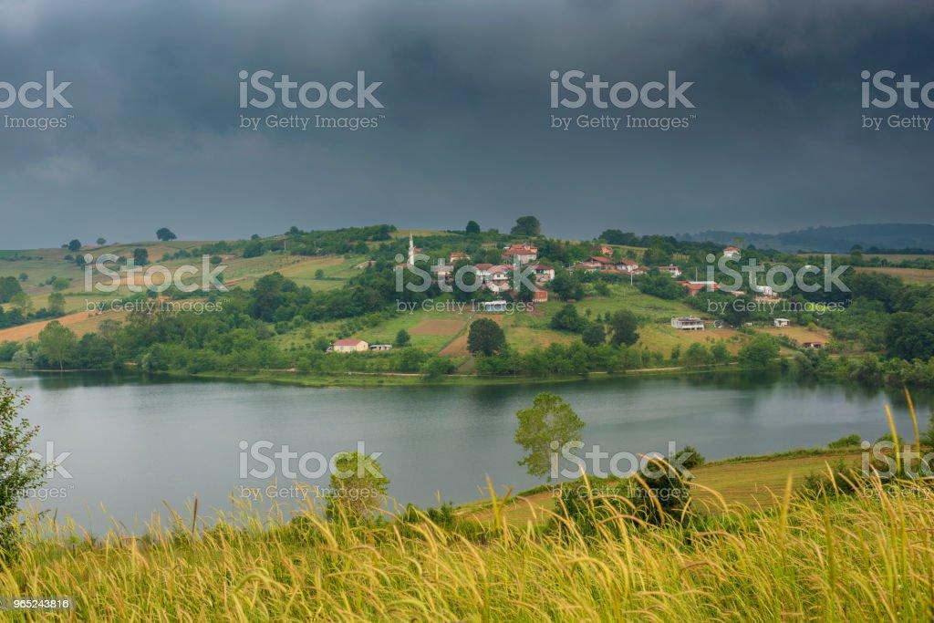 irrigation dam zbiór zdjęć royalty-free