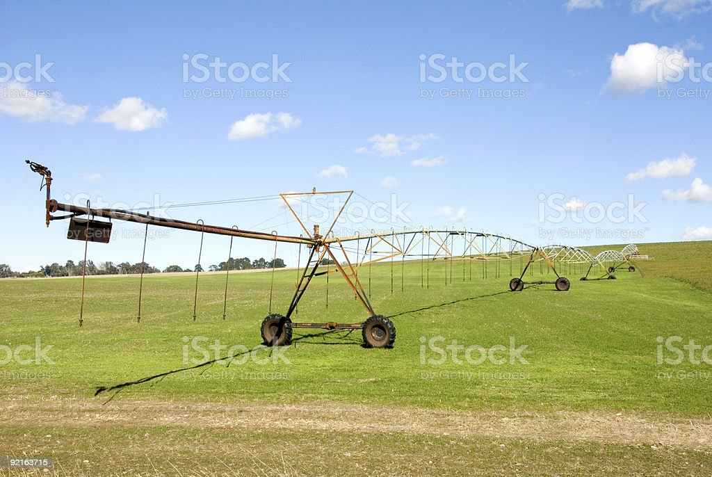Irrigation Equipment royalty-free stock photo