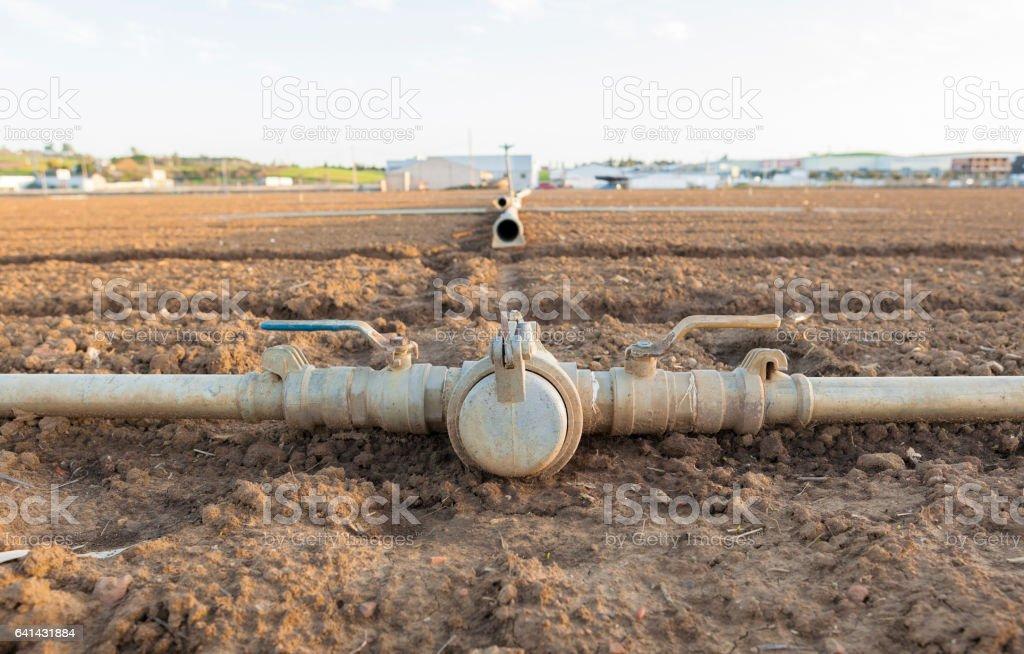 Bewässerung Metall Rohre Verbindungen Auf Vor Kurzem