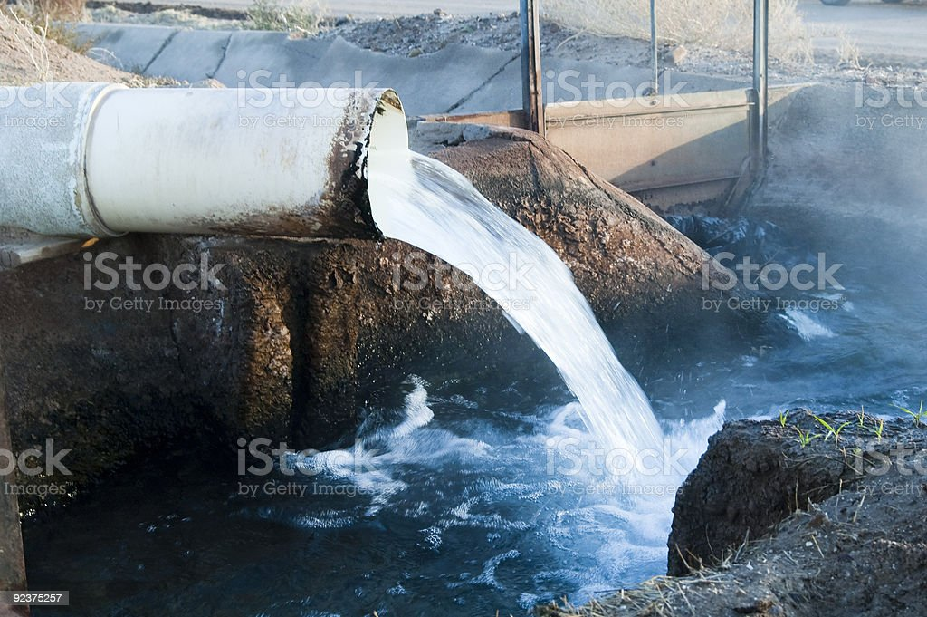 irrigation pipeline royalty-free stock photo