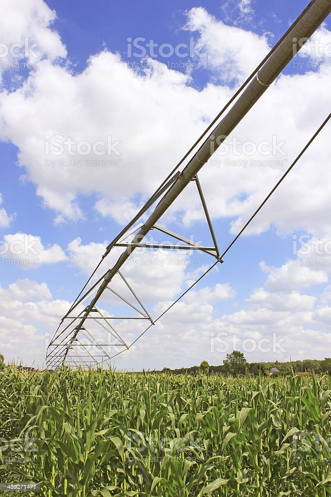 irrigation system for agriculture royalty-free stock photo