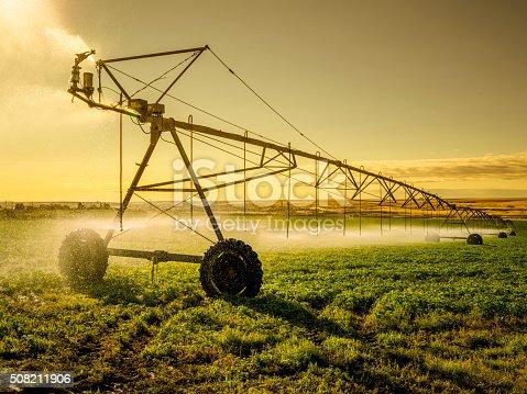 Irrigator Machine at palouse, WA, USA.