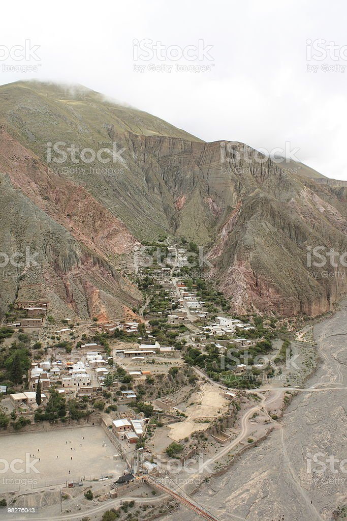 Iruya, Argentina royalty-free stock photo