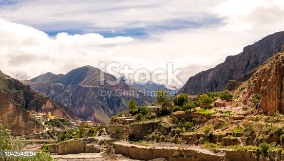 Entrance to the ancient town of Iruya, province of Salta, Argentina