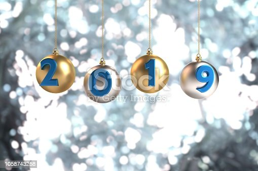 istock 2019 is coming! 1058743258
