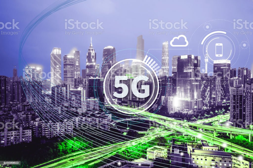 5G is coming foto stock royalty-free