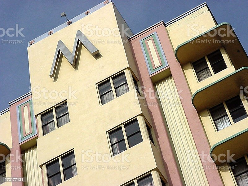 M is for Miami royalty-free stock photo