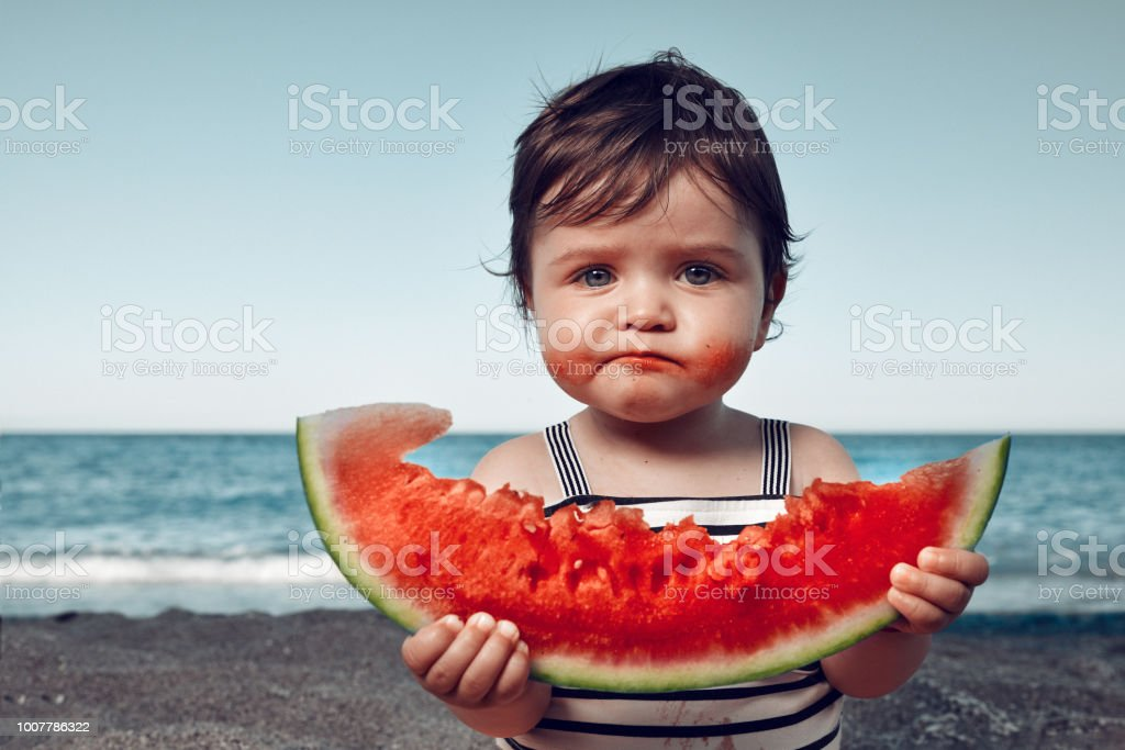 is it delicious?! stock photo