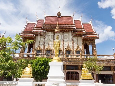 WAT BAN RAI NAKHON RATCHASIMA,THAILAND-29 SEPTEMBER 2018:(Luang Por Koon) is located in Nakhon Ratchasima. The faith of the nation. Access to the masses and politicians Easy way to teach.