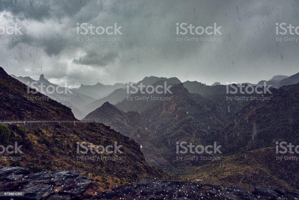 yağmur ve soğuk royalty-free stock photo