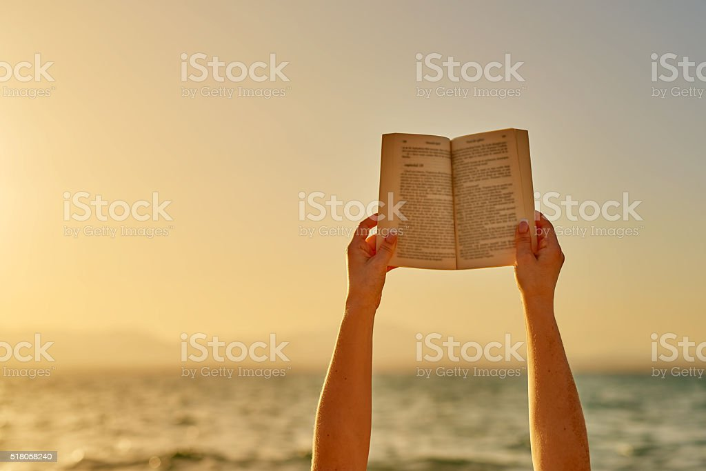 is reading time stock photo