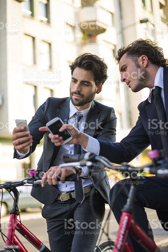 Is that a new application? royalty-free stock photo
