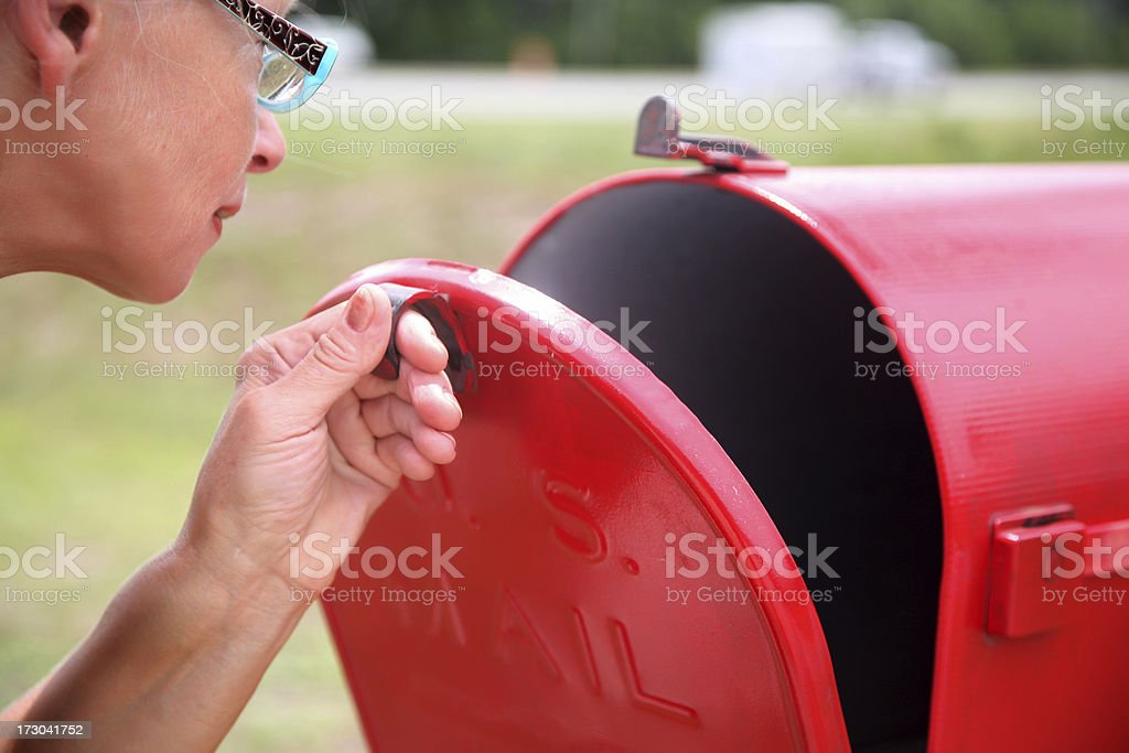Is there any mail? stock photo