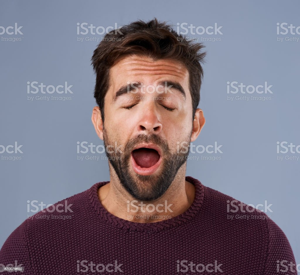 Is this day over yet? stock photo