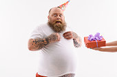 istock Is this present for me 590069886