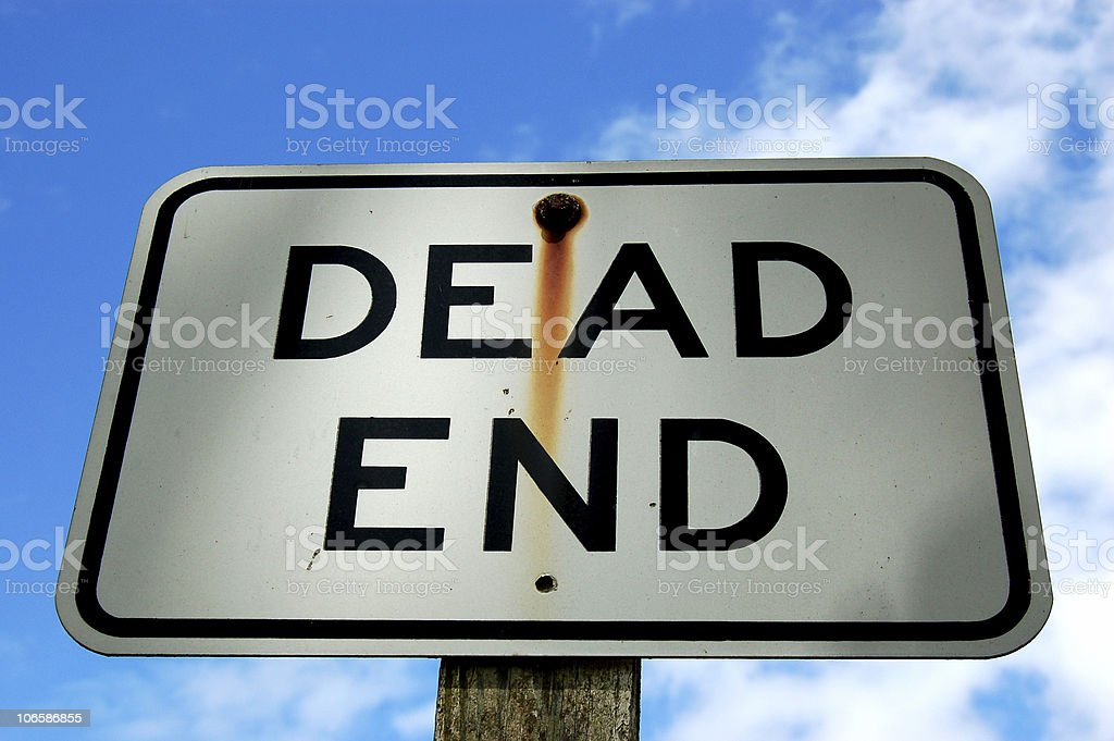 Is This Really the End? stock photo