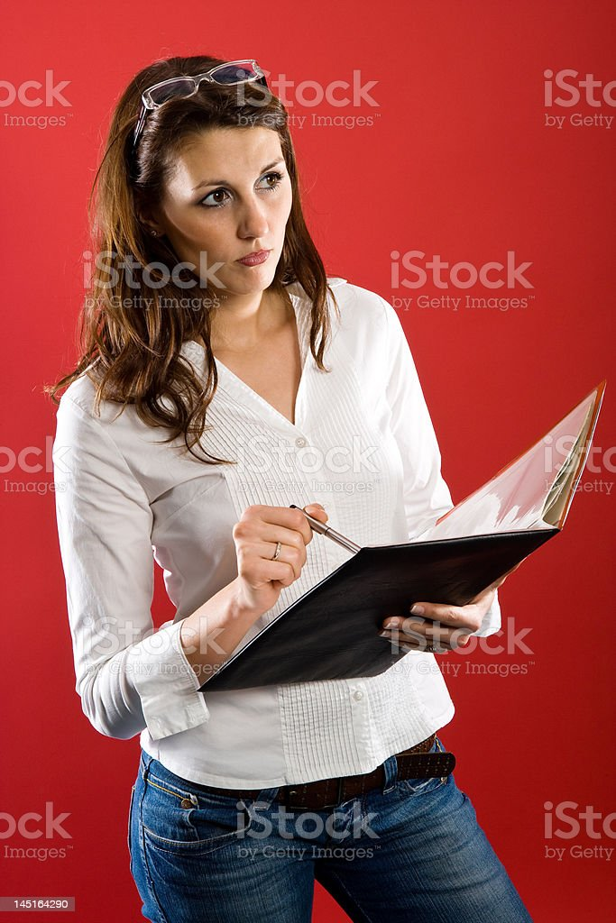 Is this the right conclusion royalty-free stock photo