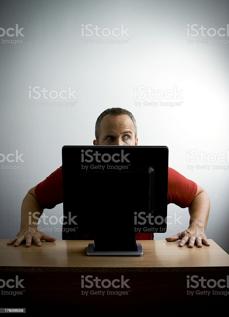 Is Your Computer Secure? royalty-free stock photo