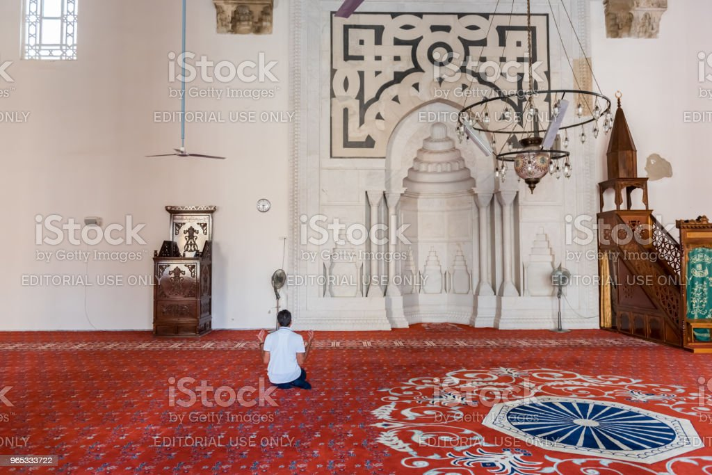 Isa Bey Mosque in Selcuk,Izmir,Turkey. royalty-free stock photo