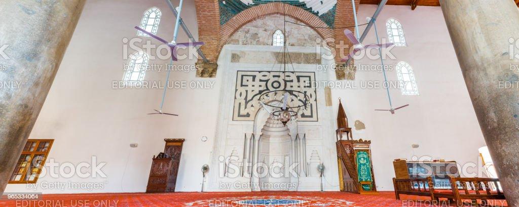 Isa Bey Mosque in Selcuk,Izmir,Turkey. royalty-free stock photo