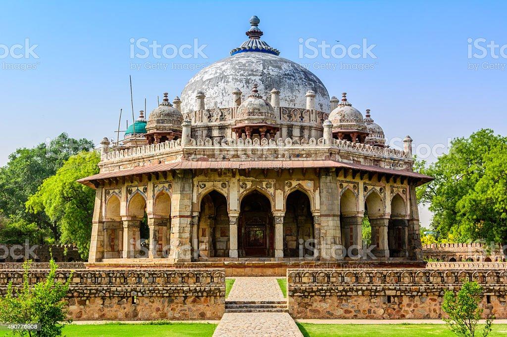 Isa Khan Tomb Enclosure,New Delhi. India stock photo