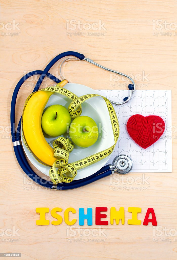 Ischemia stock photo
