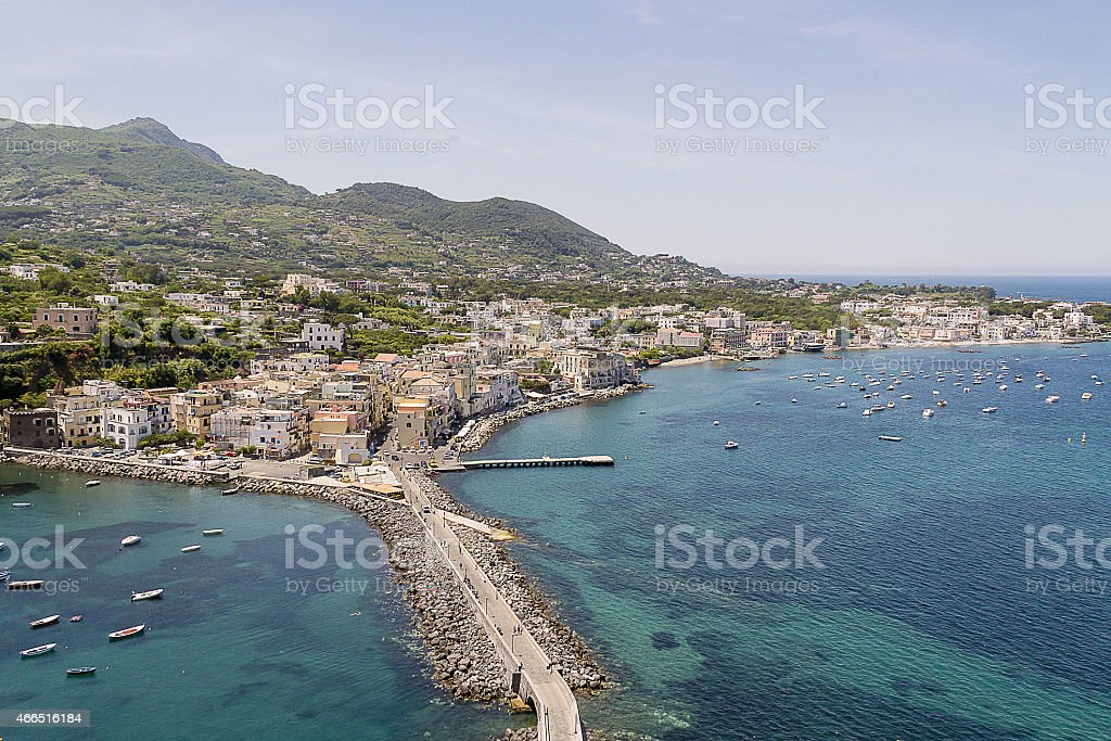 ischia stock photo