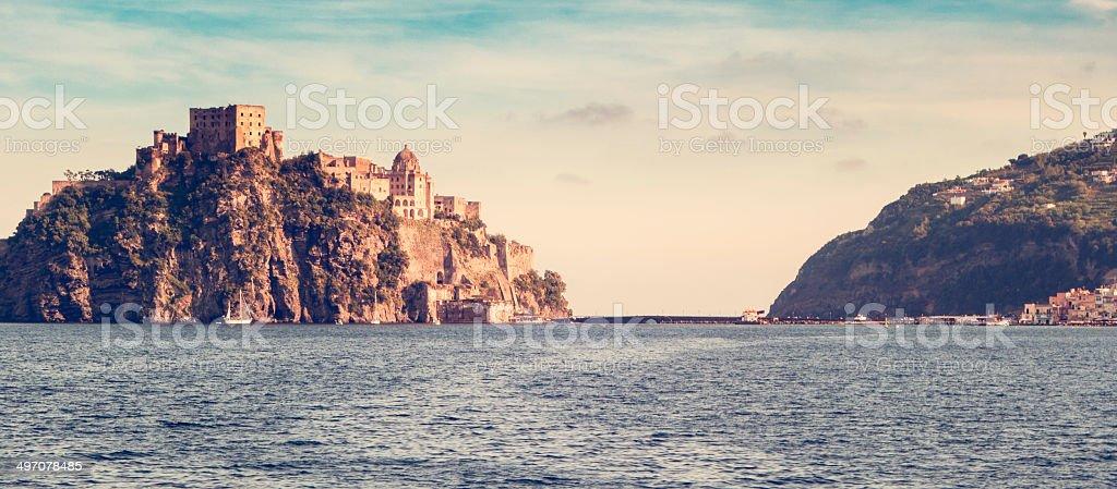 Ischia Ponte stock photo