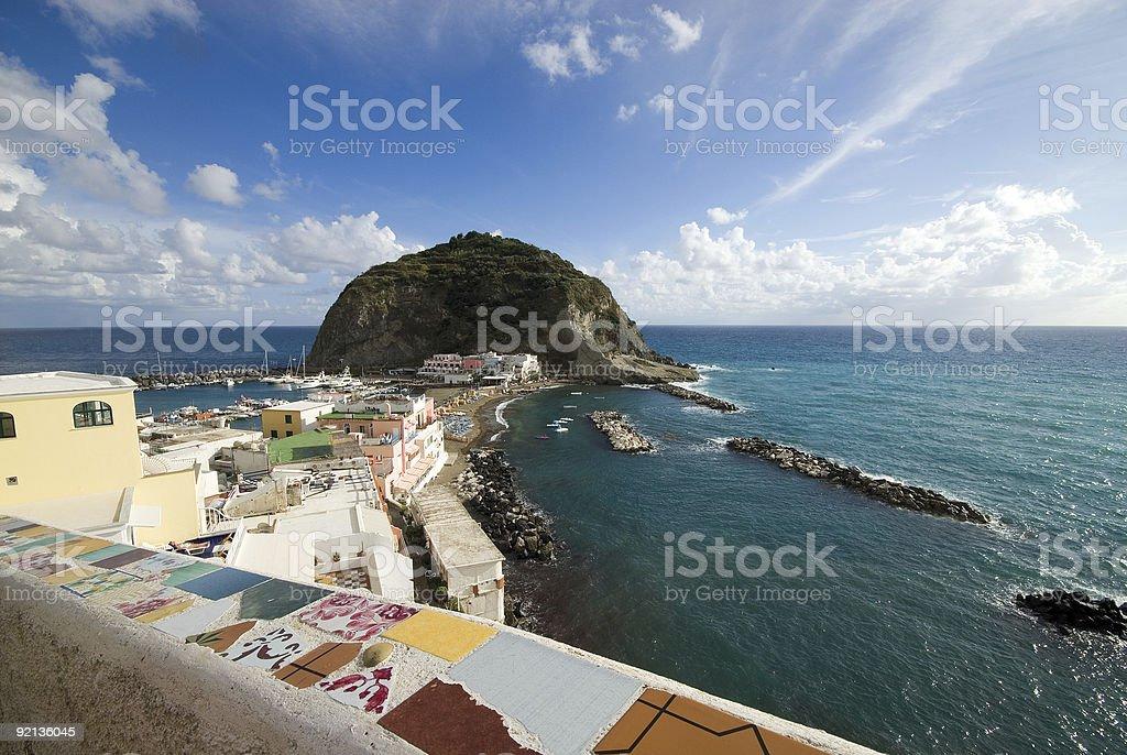 Ischia, Sant'Angelo - Italy stock photo