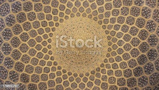 Original photo taken in Sheikh Lotfollah Mosque, Isfahan, Iran.