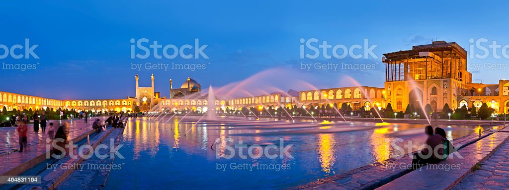 Isfahan Iran stock photo