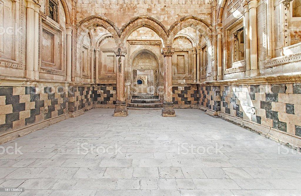 Ishak Pasa Palace royalty-free stock photo