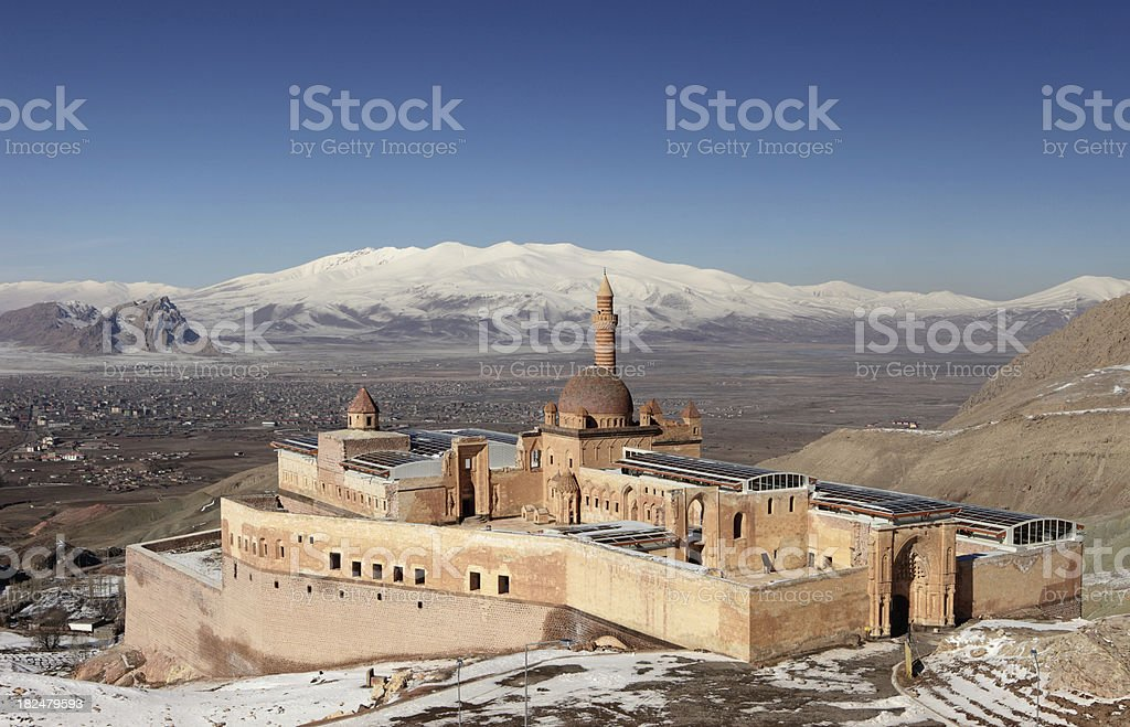 Ishak Pasha Palace Dogubeyazit Agri Turkey Stock Photo