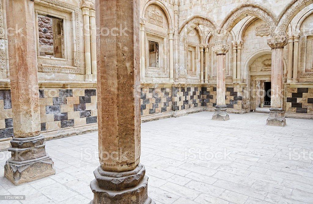 Ishakpasa Palace interior royalty-free stock photo