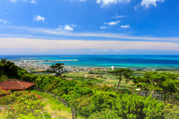 Ishigaki Island - Ishigaki Stadtgebiet vom Ishigaki-Observatorium aus gesehen – Foto