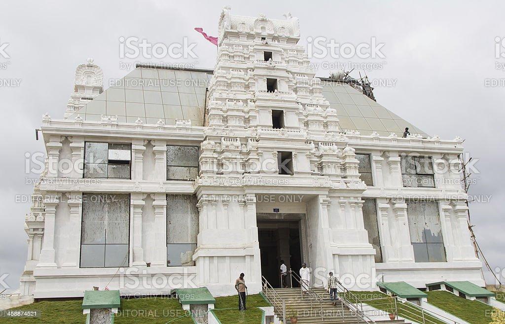 Iskcon temple in south Bangalore stock photo