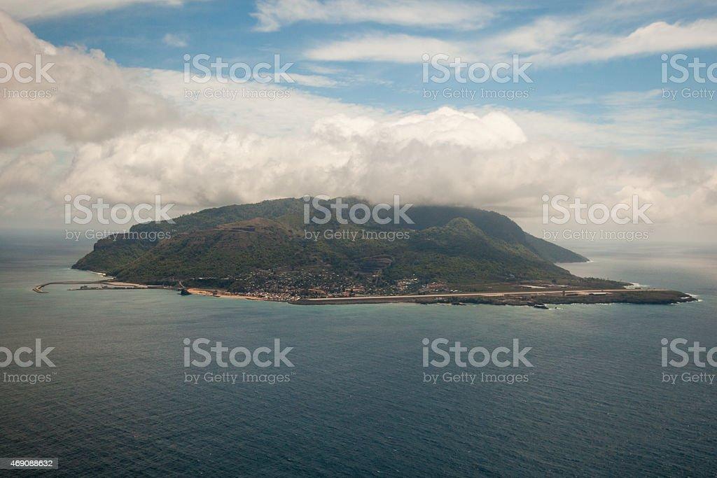 Isla de Annobon, (Guinea Ecuatorial) stock photo