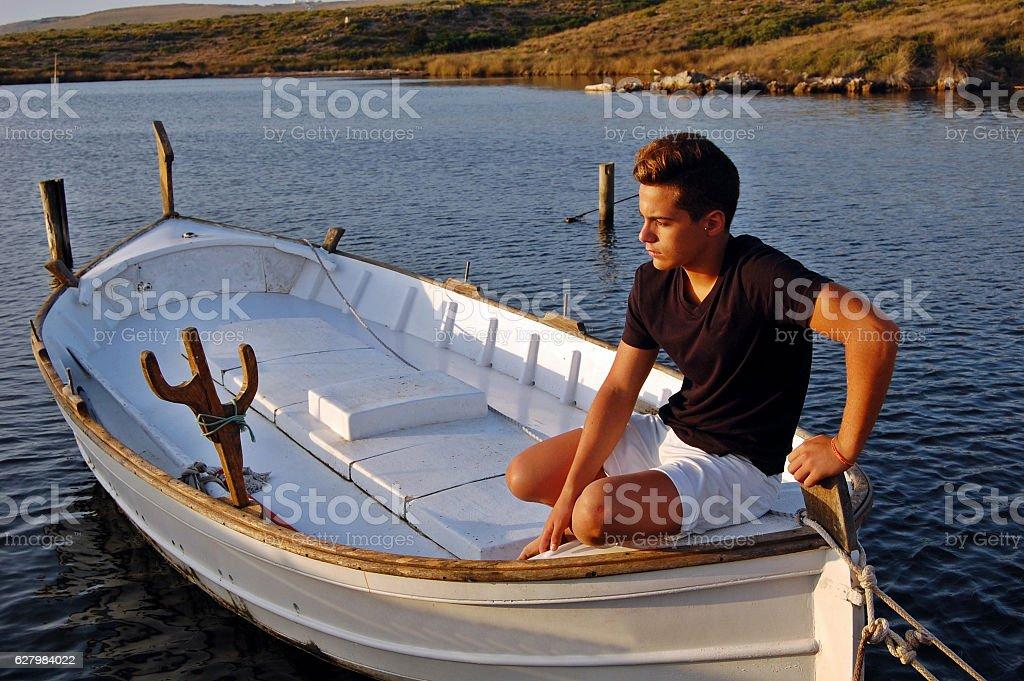 Isla de Menorca Las Baleares stock photo