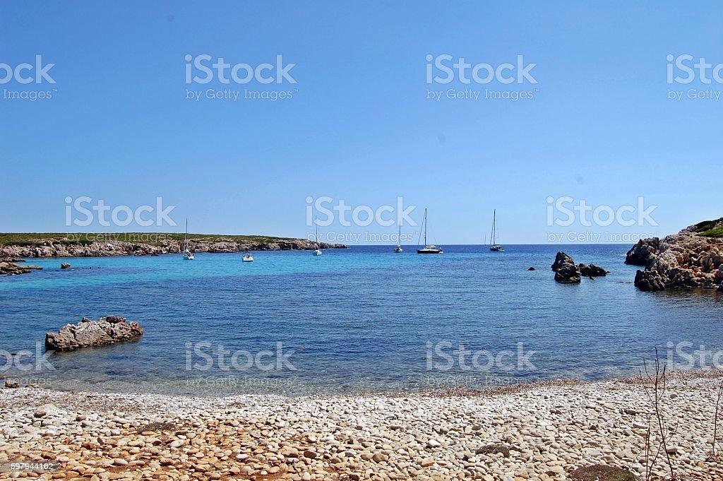 Isla De Menorcas stock photo