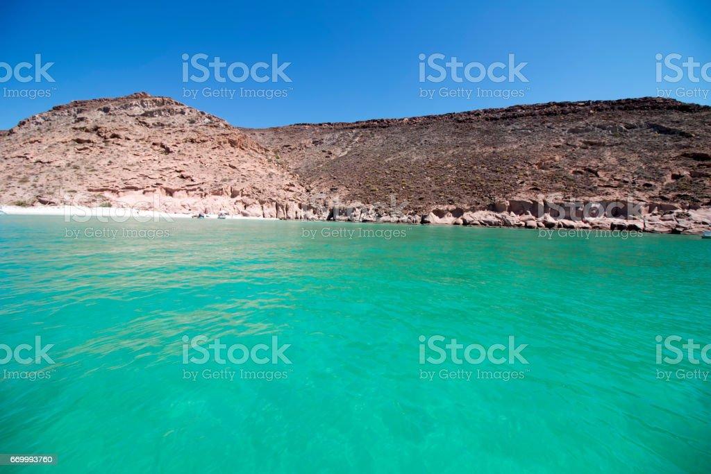Isla del espíritu santo, La paz, Baja California, México - foto de stock